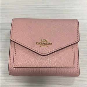 Coach Pink trifold Wallet